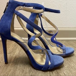 Jessica Simpson Roelyn Leather Strappy Sandals